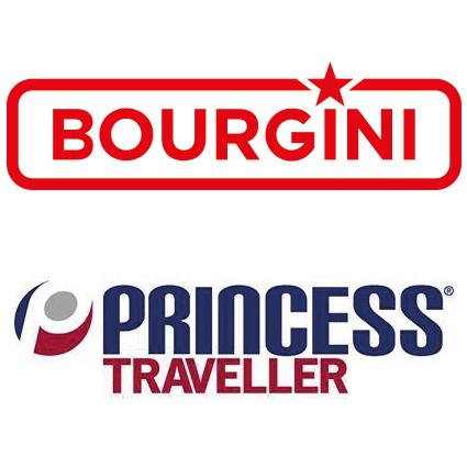 Logo Bourgini en Princess Traveller